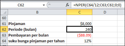 Rumus Excel Lengkap