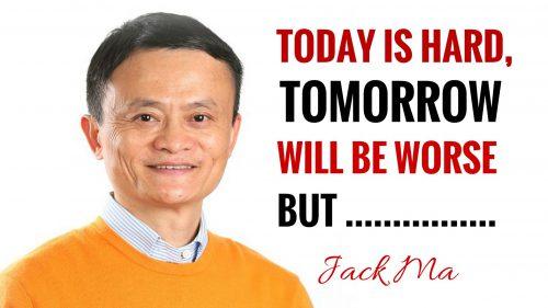 caption bijak Jack Ma