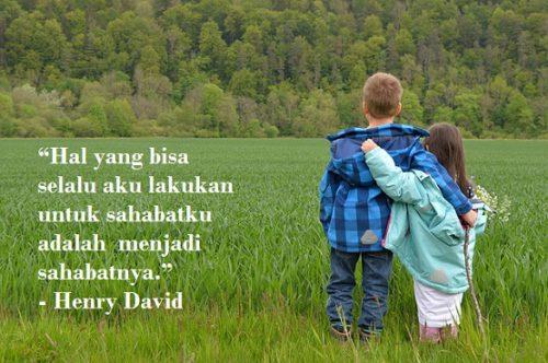 kata kata Bijak tentang Sahabat