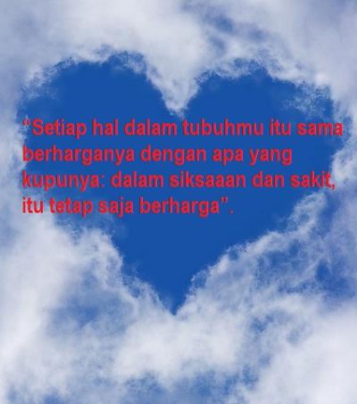 Kata Kata Bijak Cinta Romantis