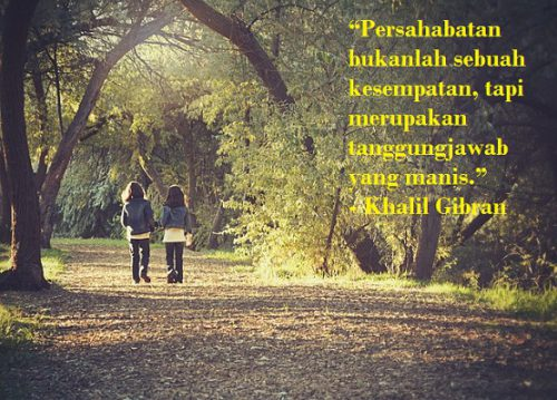 Kata Kata Mutiara Yang Menginspirasi Dalam Menjalin Persahabatan
