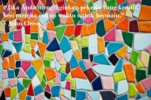 Kreativitas sangat diharapkan dalam hidup ini dalam memecahkan banyak sekali masalah Beberapa Kumpulan Kata Kata Kreatif Tentang Kreatifitas dari Tokoh Terkenal