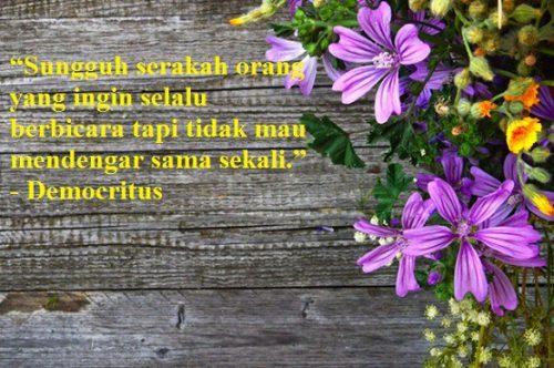 Kata kata Mutiara Democritus