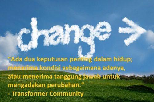 Kata kata bijak perubahan