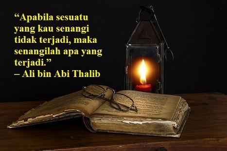 Mutiara Kata Ali Bin Abi Thalib Pertamakali