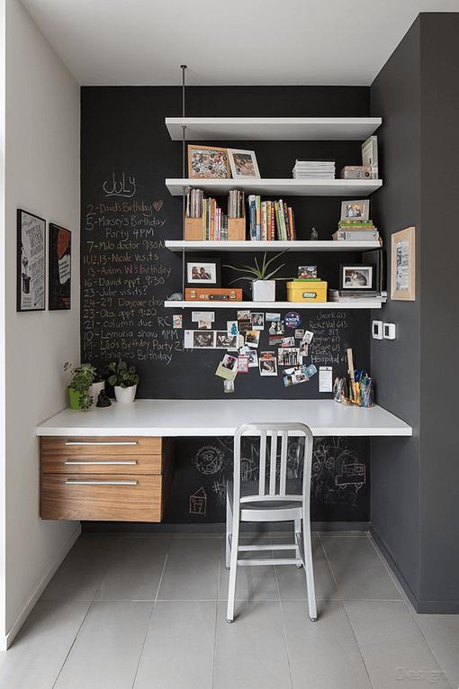 Desain Ruang Kerja Pribadi di Rumah Yang Nyaman dan Unik 8