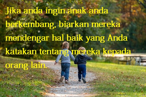 Kutipan bijak tentang anak