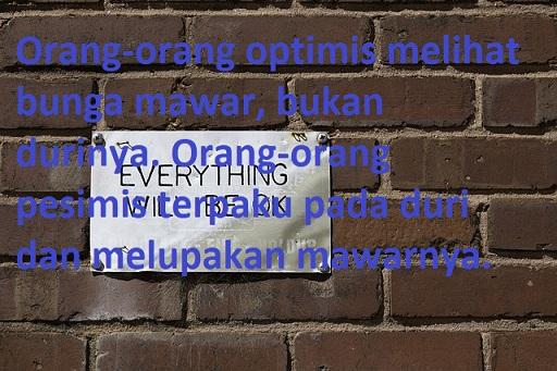 Kata kata bijak optimis