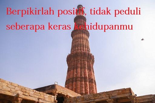 Kata kata mutiara singkat berpikir positif