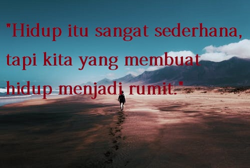 kata kata hidup sederhana