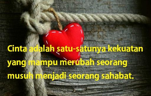 Cinta dan persahabatan